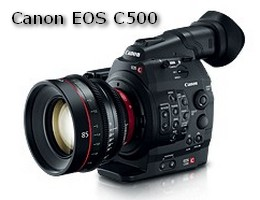 The Canon Cinema EOS C500 4K Digital Camera Capitalizes On Groundbreaking Ergonomic Design Of C300 And Offers A Super 35mm